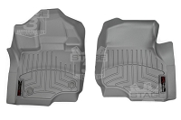 2015-2019 F150 & Raptor WeatherTech Front Floor Liner Digital Fit (Grey)