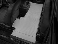 2017-2019 F250 & F350 SuperCab WeatherTech DigitalFit Rear Floor Liner (Gray)