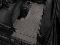 2017-2019 F250 & F350 SuperCab WeatherTech DigitalFit Rear Floor Liner (Cocoa)