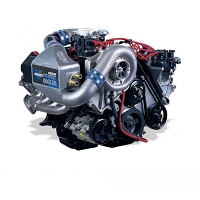1999 Mustang GT 4.6L Vortech V-3 Si-Trim Supercharger w/ charge cooler (Satin)