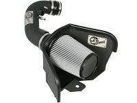 2011-2014 Mustang GT 5.0L AFE Magnum Force Stage 2 Cold Air Intake System - Pro Dry S Filter (Black)