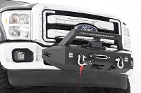 2011-2016 F250 & F350 Rough Country Exo Winch Mount System
