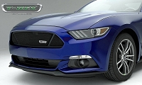 2015-2016 Mustang GT T-REX Upper Class Formed Mesh Partitioned Grille (Powdercoated Mild Steel)