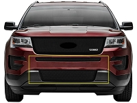 2016 Explorer T-REX Upper Class Bumper Grille - Black (2 pc.)