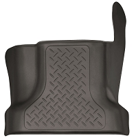 2017-2019 F250 & F350 Husky X-Act Contour Center Hump Floor Mat (Cocoa)