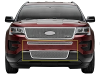 2016 Explorer T-REX Upper Class Bumper Grille - Polished (2 pc.)