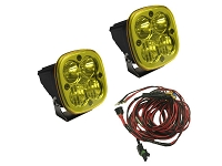 Baja Designs Squadron Sport Edition Driving/Combo LED Light - Amber (Pair)