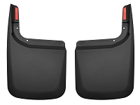 2017-2019 F250 & F350 Husky Rear Mud Guards (For Trucks w/ OE Fender Flares)