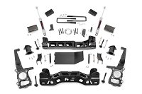 2009-2010 F150 4WD Rough Country 4 Inch Lift Kit With N3 Shocks And Strut Spacers