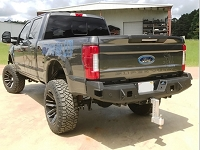 2017-2019 F250 & F350 Hammerhead Flush Mount Rear Bumper