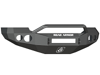 2005-2007 F250 & F350 Road Armor Stealth Series Pre-Runner Front Bumper w/ Round Light Ports