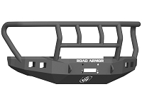 2017-2019 F250 & F350 Road Armor Stealth Series Winch-Ready Front Bumper w/ Titan II Guard