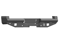 2017-2019 F250 & F350 Road Armor Stealth Series Winch-Ready Rear Bumper Base