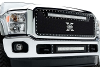2011-2016 F250 & F350 T-Rex Torch Series LED Light Bar Grille