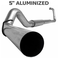 2003-2007 6.0L F250 & F350 MBRP Turbo Back 5 Inch Exhaust System - Aluminized