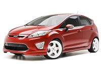 2014-2017 Fiesta ST 3dCarbon 5pc. Polyurethane Body Kit w/ Front Splitter