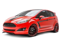2014-2017 Fiesta ST 3dCarbon 6pc. Polyurethane Body Kit