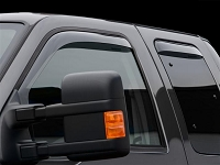 1999-2016 F250 & F350 WeatherTech Front Side Window Deflectors (Light Smoke)