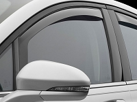2013-2017 Fusion WeatherTech Front Side Window Deflectors (Light)