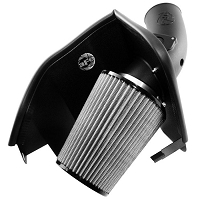 2003-2007 F250 & F350 6.0L AFE Magnum Force Stage 2 Cold Air Intake System - Pro Dry S Filter