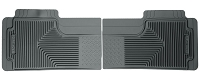 1999-2007 F250 & F350 Husky Heavy Duty 2nd Row Floor Mats (Gray)