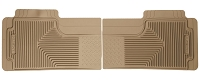 1999-2007 F250 & F350 Husky Heavy Duty 2nd Row Floor Mats (Tan)