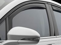 2013-2017 Fusion WeatherTech Front Side Window Deflectors (Dark)