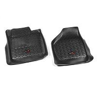 1999-2007 F250 & F350 Rugged Ridge Front Floor Liner (Black)