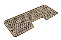 2009-2014 F150 & Raptor SuperCrew Rugged Ridge Rear Floor Liner (Tan)