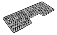 2009-2014 F150 & Raptor SuperCrew Rugged Ridge Rear Floor Liner (Gray)