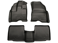2010-2016 Taurus Husky WeatherBeater Front & Rear Floor Mats