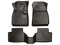 2011-2017 Fiesta Husky WeatherBeater Front & Rear Floor Mats