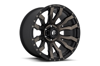 1999-2019 F250 & F350 Fuel Blitz D674 Wheel (20mm Offset) Matte Black