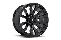 1999-2019 F250 & F350 Fuel Blitz D675 Wheel (-12mm Offset) Gloss Black