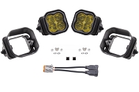 15-20 F150 Diode Dynamics SS3 SAE Yellow Pro Fog Lights