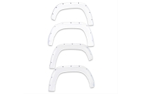 2016-2020 Tacoma EGR Bolt-On Color Match Fender Flare Set (Super White)