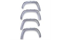 2016-2020 Tacoma EGR Bolt-On Color Match Fender Flare Set (Silver Sky)