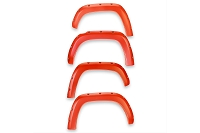 2016-2020 Tacoma EGR Bolt-On Color Match Fender Flare Set (Inferno Orange)