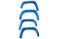 2016-2020 Tacoma EGR Bolt-On Color Match Fender Flare Set (Blazing Blue)