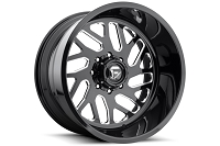 1999-2019 F250 & F350 Fuel Forged FF29 22X10 Wheel - Black & Milled
