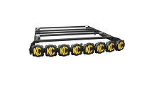 2005-2020 Tacoma Double Cab KC HiLites M-RACK with 50