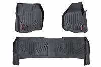 12-16 F250 & F350 Crew Cab Bucket Seats Rough Country Floor Mats