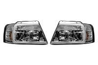 04-08 F150 Recon Projector OLED Outline Headlights (Chrome)