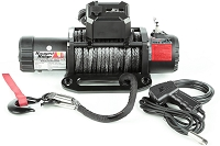 Rugged Ridge Nautic 12,500lb Winch w/ Synthetic Rope