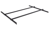19-21 Ranger 6ft Bed Roll-N-Lock Qwikrak Universal Rail System