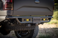 2017-2019 Ford Raptor RPG Raceline Rear Step Bumper with Sensor Cutouts