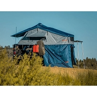 Roam Vagabond Slate Grey/Navy Blue Rooftop Tent with Annex (2-3 Person)