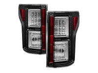 2015-2017 F150 Spyder LED Taillights (Black Housing)