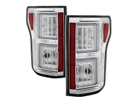 2015-2017 F150 Spyder LED Taillights (Chrome Housing)