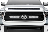 18-19 Tundra T-REX Stealth Torch Black Grille w/ 2 x 12